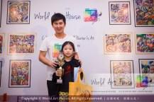 Malaysia Kota Damansara Petaling Jaya Kuala Lumpur Selangor Chinese New Year Charity Coloring Contest World Art House 世界艺术画室 and 1 Utama Shopping JinYeYe Effye Media C017