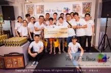 Malaysia Kota Damansara Petaling Jaya Kuala Lumpur Selangor Chinese New Year Charity Coloring Contest World Art House 世界艺术画室 and 1 Utama Shopping JinYeYe Effye Media C040