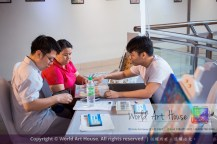 Malaysia Kota Damansara Petaling Jaya Kuala Lumpur Selangor Chinese New Year Charity Coloring Contest World Art House 世界艺术画室 and 1 Utama Shopping JinYeYe Effye Media C043