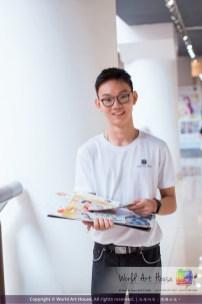 Malaysia Kota Damansara Petaling Jaya Kuala Lumpur Selangor Chinese New Year Charity Coloring Contest World Art House 世界艺术画室 and 1 Utama Shopping JinYeYe Effye Media C049