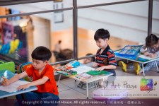 Malaysia Kota Damansara Petaling Jaya Kuala Lumpur Selangor Chinese New Year Charity Coloring Contest World Art House 世界艺术画室 and 1 Utama Shopping JinYeYe Effye Media A028