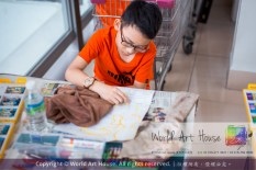 Malaysia Kota Damansara Petaling Jaya Kuala Lumpur Selangor Chinese New Year Charity Coloring Contest World Art House 世界艺术画室 and 1 Utama Shopping JinYeYe Effye Media C079