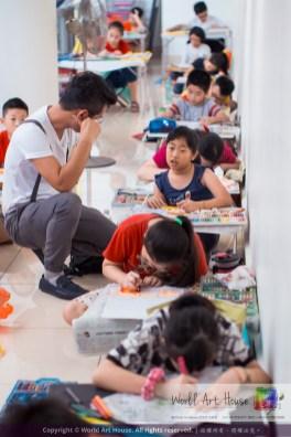 Malaysia Kota Damansara Petaling Jaya Kuala Lumpur Selangor Chinese New Year Charity Coloring Contest World Art House 世界艺术画室 and 1 Utama Shopping JinYeYe Effye Media C081
