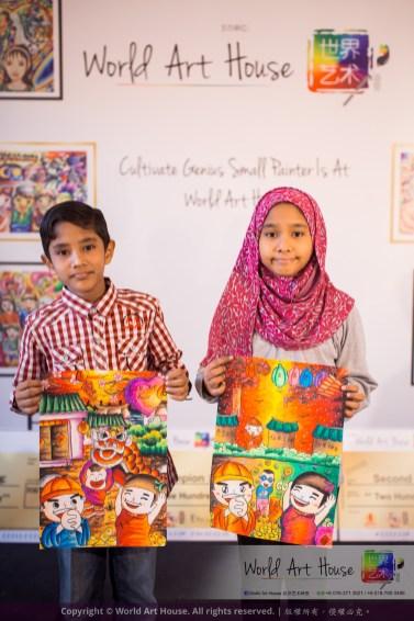 Malaysia Kota Damansara Petaling Jaya Kuala Lumpur Selangor Chinese New Year Charity Coloring Contest World Art House 世界艺术画室 and 1 Utama Shopping JinYeYe Effye Media C096