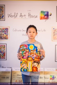 Malaysia Kota Damansara Petaling Jaya Kuala Lumpur Selangor Chinese New Year Charity Coloring Contest World Art House 世界艺术画室 and 1 Utama Shopping JinYeYe Effye Media C100