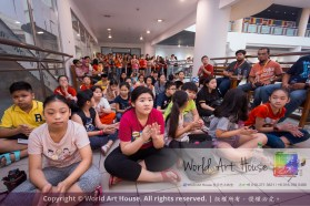 Malaysia Kota Damansara Petaling Jaya Kuala Lumpur Selangor Chinese New Year Charity Coloring Contest World Art House 世界艺术画室 and 1 Utama Shopping JinYeYe Effye Media D014