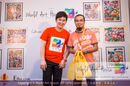 Malaysia Kota Damansara Petaling Jaya Kuala Lumpur Selangor Chinese New Year Charity Coloring Contest World Art House 世界艺术画室 and 1 Utama Shopping JinYeYe Effye Media D020