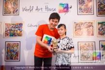 Malaysia Kota Damansara Petaling Jaya Kuala Lumpur Selangor Chinese New Year Charity Coloring Contest World Art House 世界艺术画室 and 1 Utama Shopping JinYeYe Effye Media D031