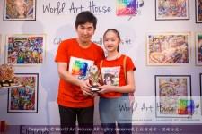 Malaysia Kota Damansara Petaling Jaya Kuala Lumpur Selangor Chinese New Year Charity Coloring Contest World Art House 世界艺术画室 and 1 Utama Shopping JinYeYe Effye Media D034