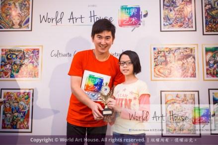 Malaysia Kota Damansara Petaling Jaya Kuala Lumpur Selangor Chinese New Year Charity Coloring Contest World Art House 世界艺术画室 and 1 Utama Shopping JinYeYe Effye Media D038