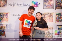Malaysia Kota Damansara Petaling Jaya Kuala Lumpur Selangor Chinese New Year Charity Coloring Contest World Art House 世界艺术画室 and 1 Utama Shopping JinYeYe Effye Media D039