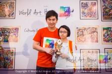 Malaysia Kota Damansara Petaling Jaya Kuala Lumpur Selangor Chinese New Year Charity Coloring Contest World Art House 世界艺术画室 and 1 Utama Shopping JinYeYe Effye Media D042
