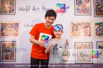Malaysia Kota Damansara Petaling Jaya Kuala Lumpur Selangor Chinese New Year Charity Coloring Contest World Art House 世界艺术画室 and 1 Utama Shopping JinYeYe Effye Media D049