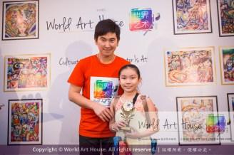 Malaysia Kota Damansara Petaling Jaya Kuala Lumpur Selangor Chinese New Year Charity Coloring Contest World Art House 世界艺术画室 and 1 Utama Shopping JinYeYe Effye Media D056