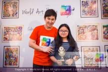 Malaysia Kota Damansara Petaling Jaya Kuala Lumpur Selangor Chinese New Year Charity Coloring Contest World Art House 世界艺术画室 and 1 Utama Shopping JinYeYe Effye Media D057