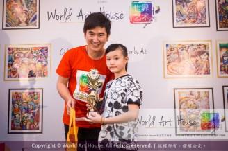 Malaysia Kota Damansara Petaling Jaya Kuala Lumpur Selangor Chinese New Year Charity Coloring Contest World Art House 世界艺术画室 and 1 Utama Shopping JinYeYe Effye Media D059