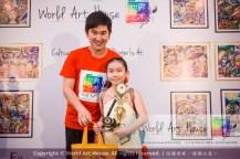 Malaysia Kota Damansara Petaling Jaya Kuala Lumpur Selangor Chinese New Year Charity Coloring Contest World Art House 世界艺术画室 and 1 Utama Shopping JinYeYe Effye Media D063