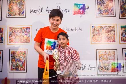 Malaysia Kota Damansara Petaling Jaya Kuala Lumpur Selangor Chinese New Year Charity Coloring Contest World Art House 世界艺术画室 and 1 Utama Shopping JinYeYe Effye Media D066