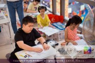 Malaysia Kota Damansara Petaling Jaya Kuala Lumpur Selangor Chinese New Year Charity Coloring Contest World Art House 世界艺术画室 and 1 Utama Shopping JinYeYe Effye Media A076