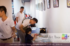 Malaysia Kota Damansara Petaling Jaya Kuala Lumpur Selangor Chinese New Year Charity Coloring Contest World Art House 世界艺术画室 and 1 Utama Shopping JinYeYe Effye Media A083