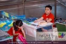 Malaysia Kota Damansara Petaling Jaya Kuala Lumpur Selangor Chinese New Year Charity Coloring Contest World Art House 世界艺术画室 and 1 Utama Shopping JinYeYe Effye Media A010