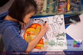 Malaysia Kota Damansara Petaling Jaya Kuala Lumpur Selangor Chinese New Year Charity Coloring Contest World Art House 世界艺术画室 and 1 Utama Shopping JinYeYe Effye Media A091