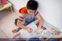 Malaysia Kota Damansara Petaling Jaya Kuala Lumpur Selangor World Art House 世界艺术画室 Charity Coloring Contest Effye Media A013