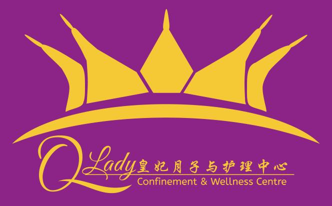 Qlady皇妃月子与护理中心 峇株巴辖 柔佛 马来西亚 做月子 女性长短期护理 陪月 经期调养休息 logo