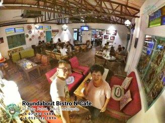 Batu Pahat Roundabout Bistro N Cafe Malaysia Johor Batu Pahat Totoro Cafe Historical Building Cafe Batu Pahat Landmark Buffet Birthday Party Wedding Function Event Kopitiam P01-21