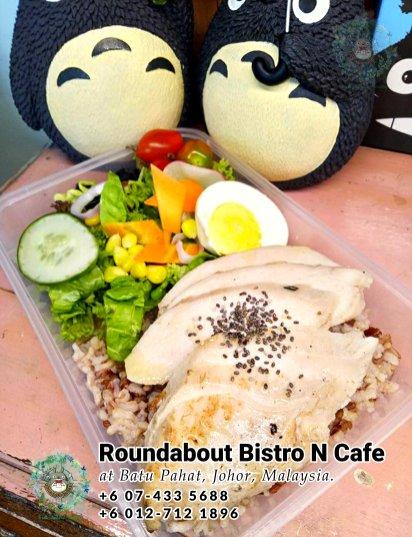 Batu Pahat Roundabout Bistro N Cafe Malaysia Johor Batu Pahat Totoro Kafe Bangunan Bersejarah Kafe Batu Pahat Landmark Bufet Hari Lahir Parti Perkahwinan Acara Kopitiam PB01-18