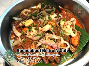 Buffet Batu Pahat Roundabout Bistro N Cafe Malaysia Johor Batu Pahat Totoro Cafe Historical Building Cafe Batu Pahat Landmark Birthday Party Wedding Function Event Kopitiam PC01-46