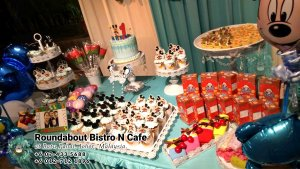 Buffet Batu Pahat Roundabout Bistro N Cafe Malaysia Johor Batu Pahat Totoro Cafe Historical Building Cafe Batu Pahat Landmark Birthday Party Wedding Function Event Kopitiam PC01-49