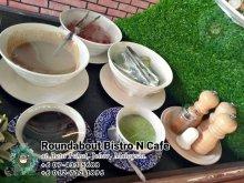 峇株巴辖自助餐龙猫特色中西餐厅 复古式建筑咖啡厅 马来西亚柔佛峇株巴辖地标交通圈小酒馆 公司聚会 Batu Pahat Roudabout Bistro N Cafe PC01-15
