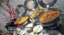 峇株巴辖自助餐龙猫特色中西餐厅 复古式建筑咖啡厅 马来西亚柔佛峇株巴辖地标交通圈小酒馆 公司聚会 Batu Pahat Roudabout Bistro N Cafe PC01-07