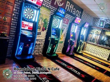 马来西亚柔佛峇株巴辖龙猫特色中西餐厅 复古式建筑咖啡厅 峇株巴辖地标交通圈小酒馆 公司聚会 庆生派对 Batu Pahat Roudabout Bistro N Cafe PA01-12