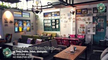 马来西亚柔佛峇株巴辖龙猫特色中西餐厅 复古式建筑咖啡厅 峇株巴辖地标交通圈小酒馆 公司聚会 庆生派对 Batu Pahat Roudabout Bistro N Cafe PA01-09