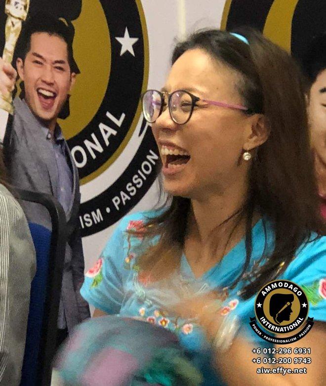 Ammodago International 工作坊2018 David Goh 发展你成为世界级的演讲者 让你体验你内在的力量 马来西亚雪兰莪吉隆坡演讲培训 训练课程 2018 EPA02-04