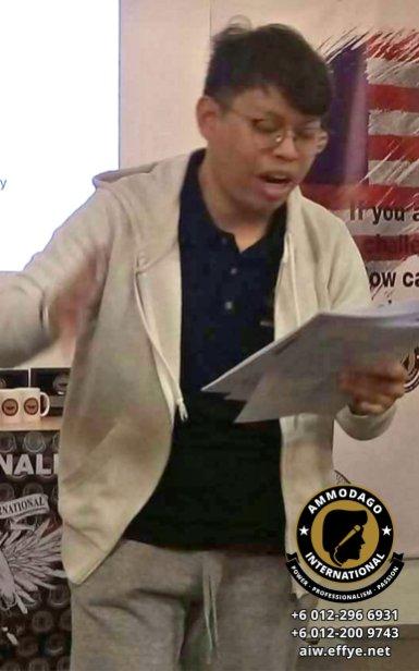Ammodago International Workshop 2018 David Goh Develop You To Be World Class Speaker Experience The Power Within You Malaysia Selangor Kuala Lumpur Training 2018 EPA10