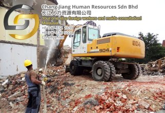 Chang Jiang Human Resources Johor Malaysia Foreign Worker Permit Passport Insurance Consultation Rehiring Workers and Maids EPA01-61