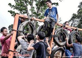 和平团契少年生活营 2018 你是谁 认识你自己 Peace Fellowship Youth Camp 2018 Who Are You Know Yourself Adventure Park Tyre Adventure A02