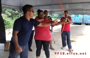 和平团契少年生活营 2018 你是谁 认识你自己 Peace Fellowship Youth Camp 2018 Who Are You Know Yourself Adventure Park Archery A02