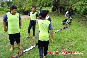 和平团契少年生活营 2018 你是谁 认识你自己 Peace Fellowship Youth Camp 2018 Who Are You Know Yourself Adventure Park Explorace Challenge A05