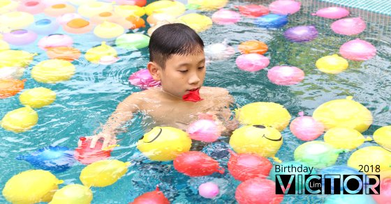 Victor Lim Birthday 2018 in Malaysia Party Buffet Swimming Fun A00