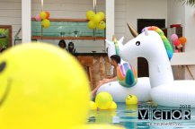 Victor Lim Birthday 2018 in Malaysia Party Buffet Swimming Fun A03