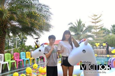 Victor Lim Birthday 2018 in Malaysia Party Buffet Swimming Fun A19