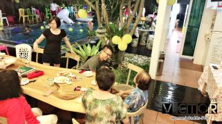 Victor Lim Birthday 2018 in Malaysia Party Buffet Swimming Fun A30