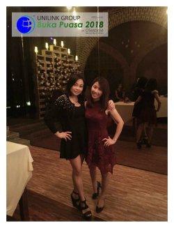 Unilink Group Buka Puasa Dinner 2018 Selamat Hari Raya Aidilfitri from Agensi Pekerjaan Unilink Prospects Sdn Bhd at Osesame Secret Bar and Bistro 08