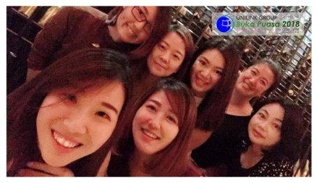 Unilink Group Buka Puasa Dinner 2018 Selamat Hari Raya Aidilfitri from Agensi Pekerjaan Unilink Prospects Sdn Bhd at Osesame Secret Bar and Bistro 14