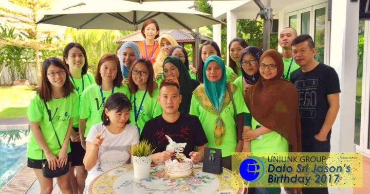 Unilink Group Happy Birthday Dato Sri Jason from Agensi Pekerjaan Unilink Prospects Sdn Bhd Your One-stop Recruitment Solution Center Malaysia 00