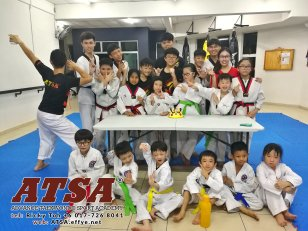 Batu Pahat Sports Ricky Toh Advance Taekwondo Sport Academy ATSA Education Martial Art Self Defence Fitness Poomdae Sparring Kyorugi Batu Pahat Johor Malaysia A02-02